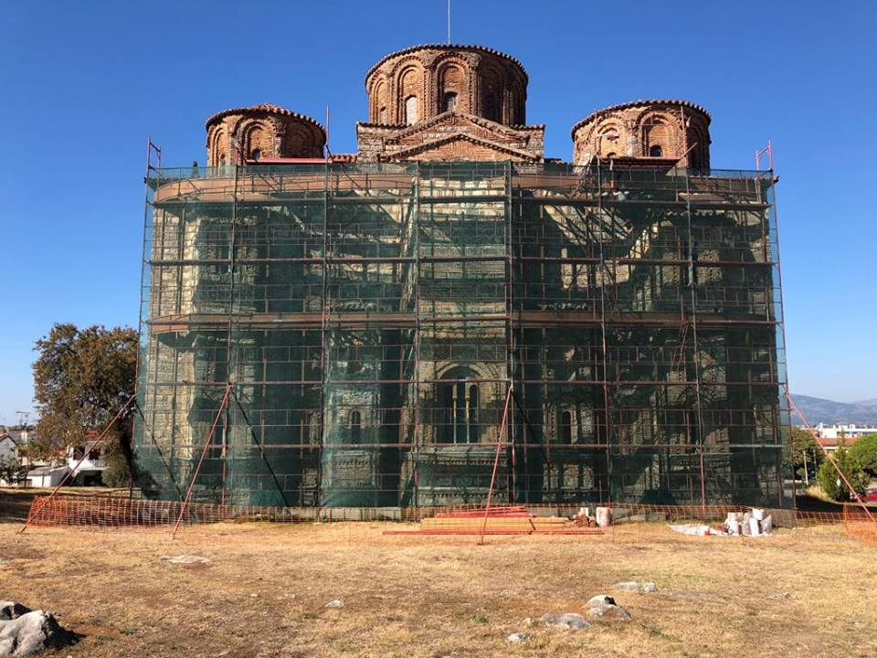 Άρχισαν οι πρώτες εργασίες για την προστασία του Μνημείου του Ι.Ν. Παρηγορήτισσας Άρτας