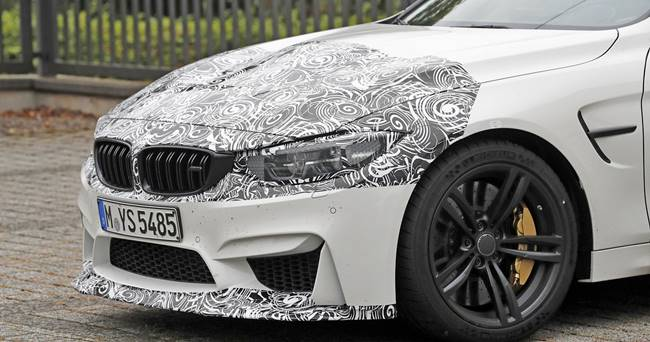 2018 BMW M4 Facelift CS Special Edition Spied