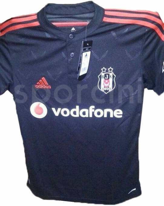 89ab667f4 The new Beşiktaş 2014-2015 Away Kit is mainly black