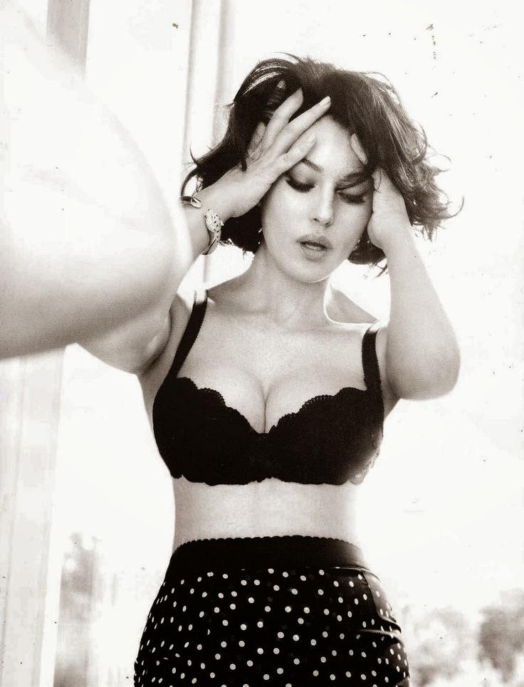 como combatir la anorexia y la bulimia  Monica Belluci by Ruven Afanador for FHM China November 2011
