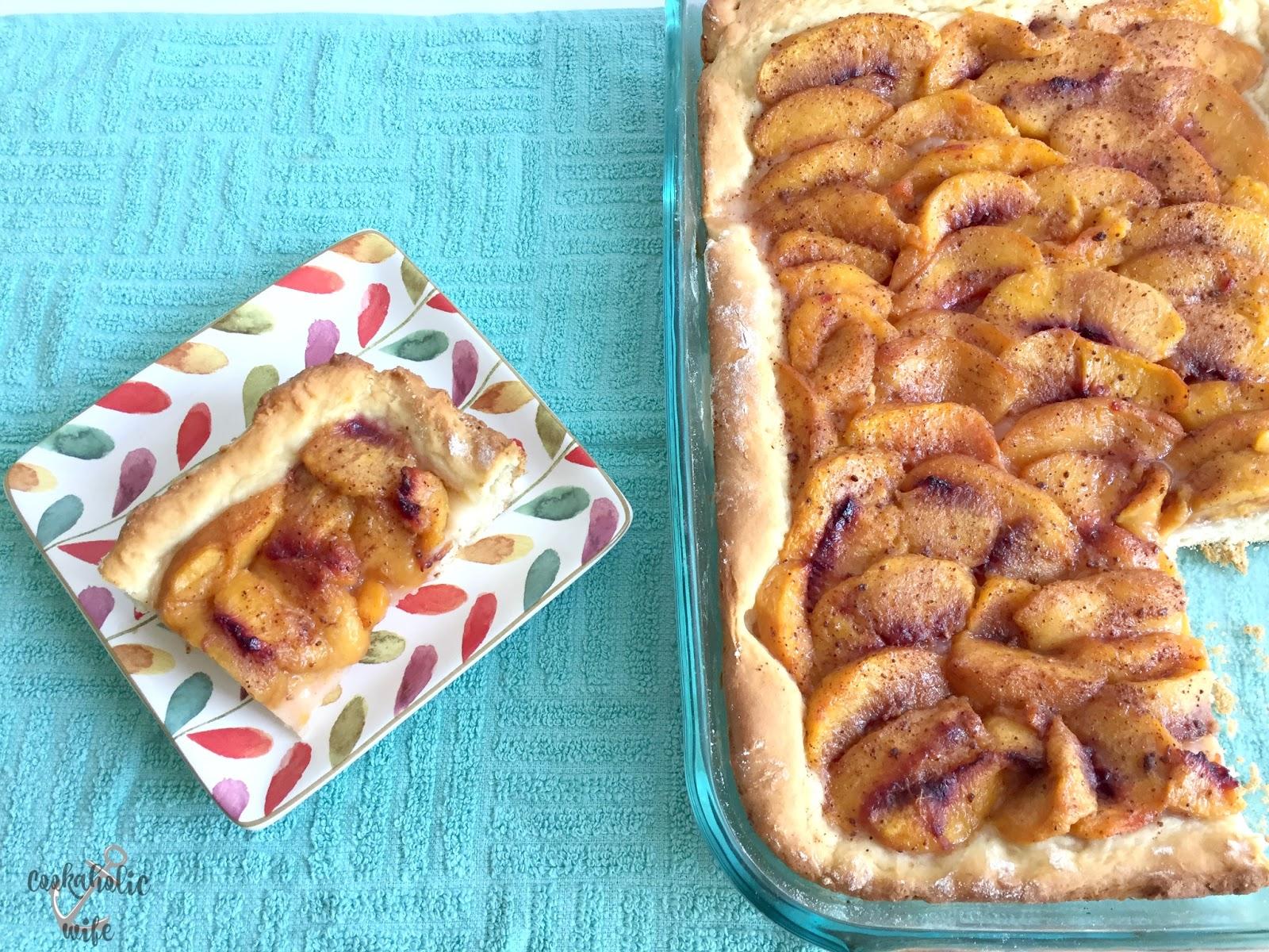 Cookaholic Wife: #BrunchWeek: Baltimore Peach Cake