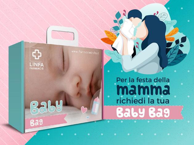 scopri dove ritirare la baby bag nelle farmacie linfa