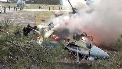 Kamov KA-52 Cayman se acidenta na Siria