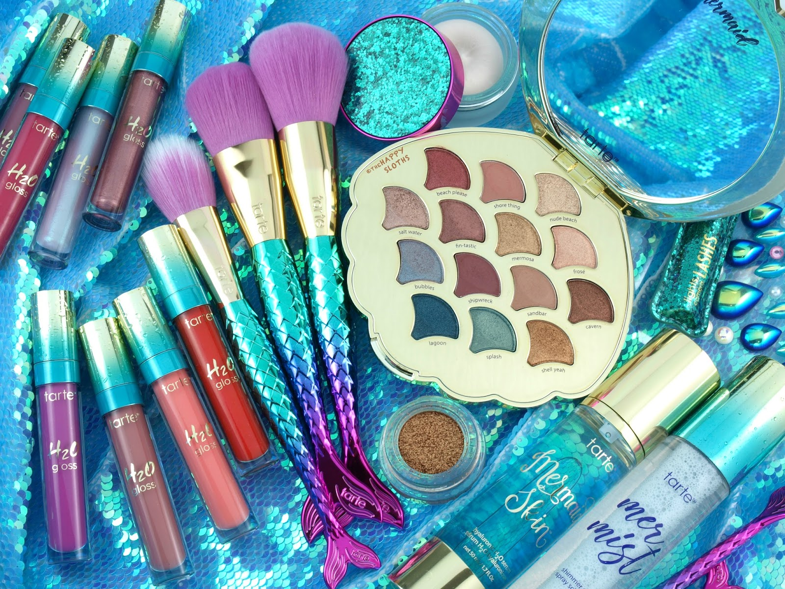 Tarte | Summer 2018 Mermaid Collection: Review & Swatches