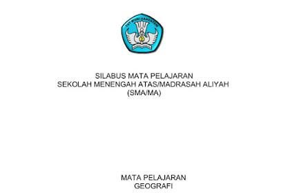 Silabus Geografi SMA-MA Kurikulum 2013 Revisi 2017 pdf