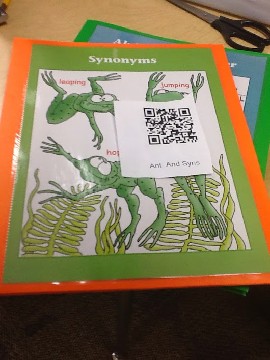 QR Codes Can Help with In Class Flipped Instruction or...... A New Spin on Centers