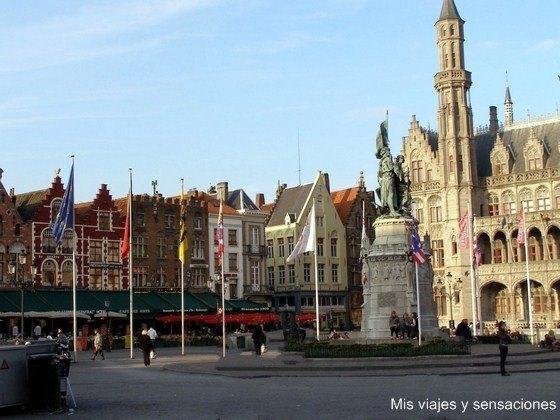 Grote Markt, Brujas, Bélgica