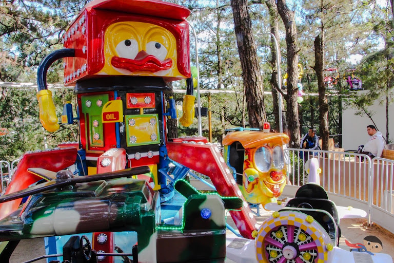 The Red Baron Ride in Sky Ranch, Baguio