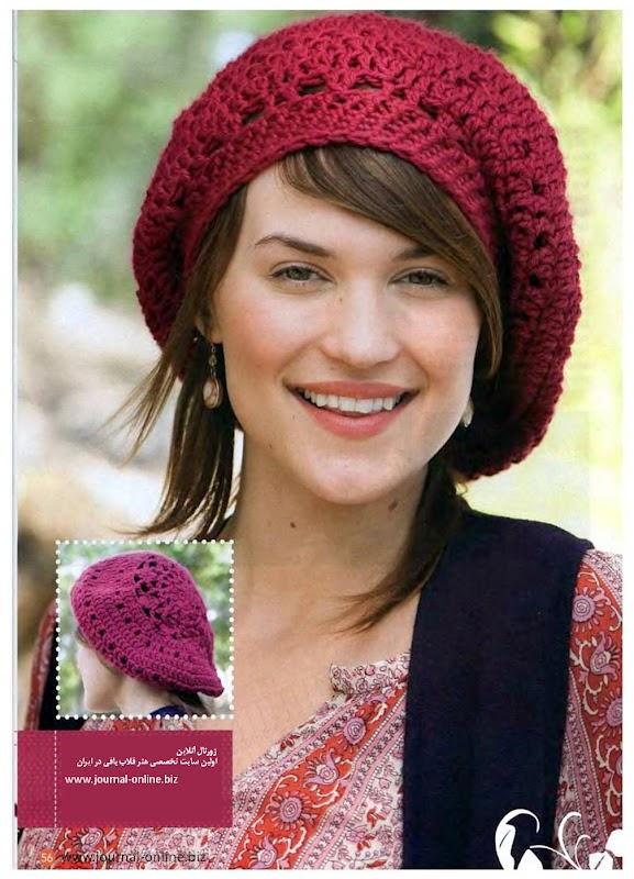 e093ee6f339bf Esse modelo já vi bastante por ae e até na cabeça de algumas famosas. O  crochê é sempre estiloso e a cor vermelha dar uma Up no look.