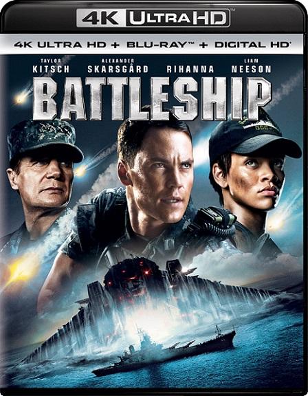 Battleship: Batalla Naval 4K (2012) 2160p 4K UltraHD HDR BluRay REMUX 53GB mkv Dual Audio DTS-X 7.1 ch