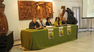 Da sinistra G. Barone, G. Poidomani, M. Terranova, M. Burderi, R. Cannella.