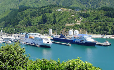 Interislander, Bluebridge Ferries, Picton