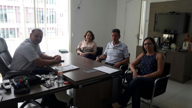 Prefeito de Registro-SP recebe nova Diretoria da Apae