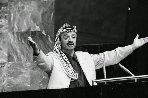 Image result for muhammad yazid with Yasser Arafat
