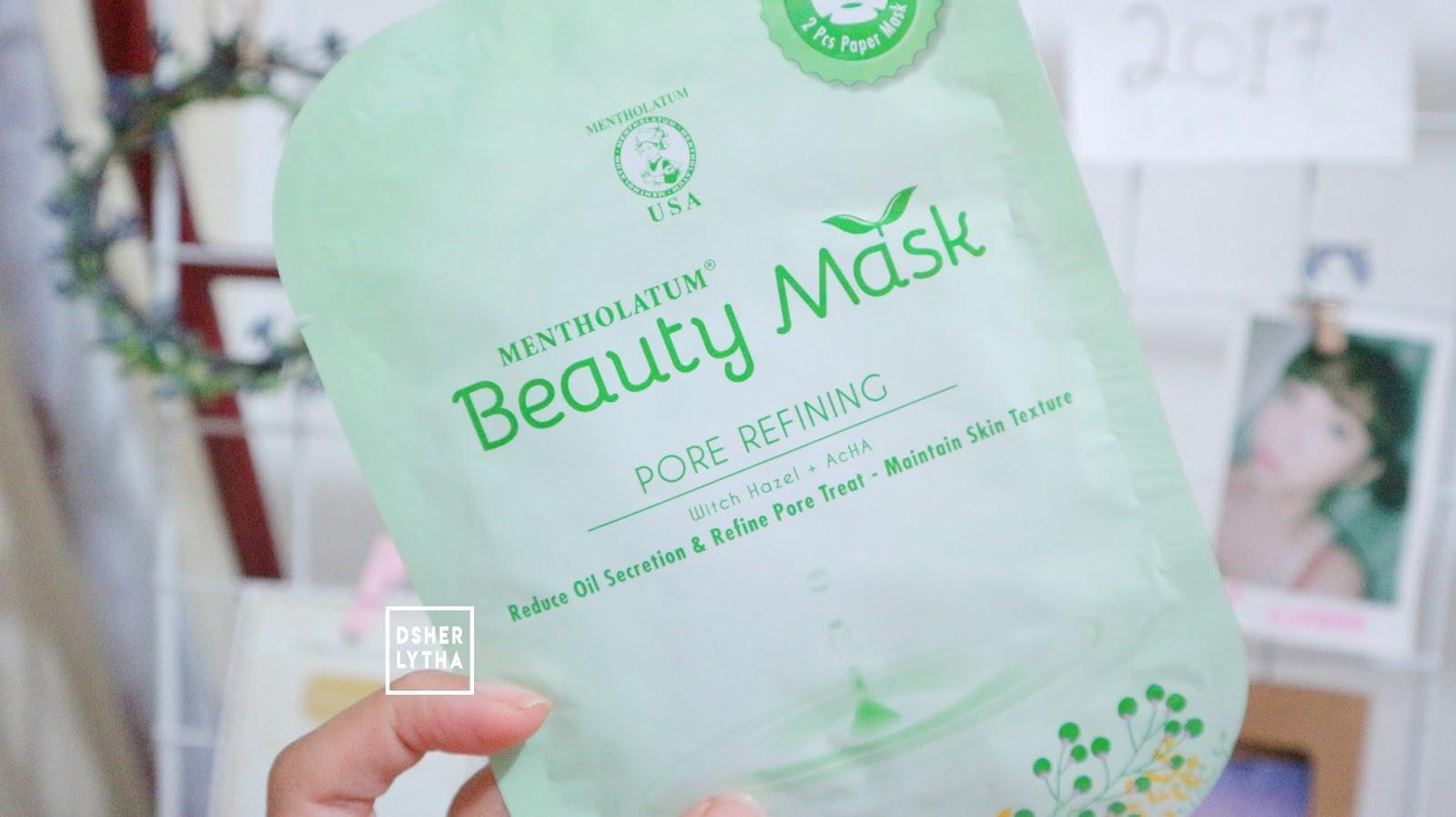Review Mentholatum Beauty Mask And Lifestyle Experience Minyak Ijo Hijau Jujur Aku Agak Asing Sama Witch Hazel Extract Ini Dan Ternyata Kandungan Bagus Untuk Mengurangi Pengeluaran Memperkecil Pori Kulit