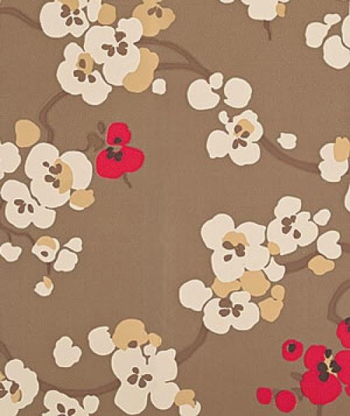 Asian Flower Print 15