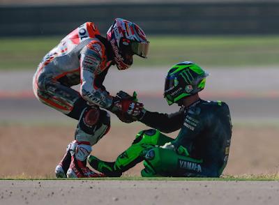 Marquez Jelaskan Crash Kontroversinya, Hampir Telan Banyak Korban