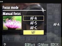 mengenal mode fokus kamera