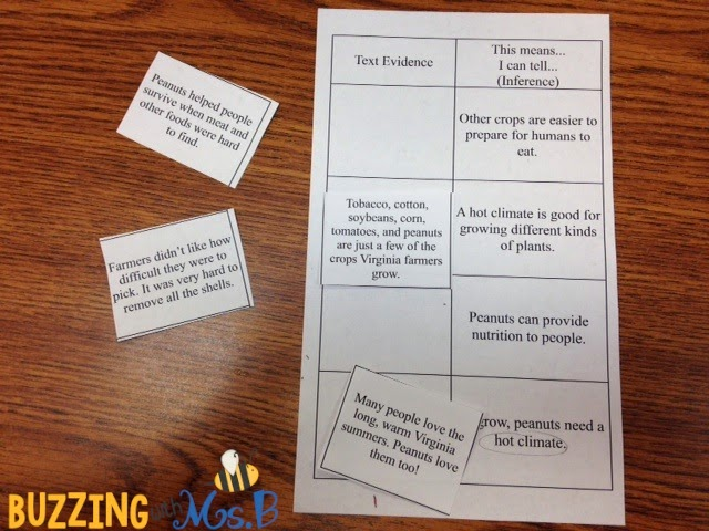 Helping students make inferences is challenging work! This anchor chart and whole group activity with the book Stripes will help your students make inferences using evidence from the text. For students who struggle, intervene with a hands-on activity to help them justify their inferences in a short passage. #teachinginferences #makinginferences #inferencing