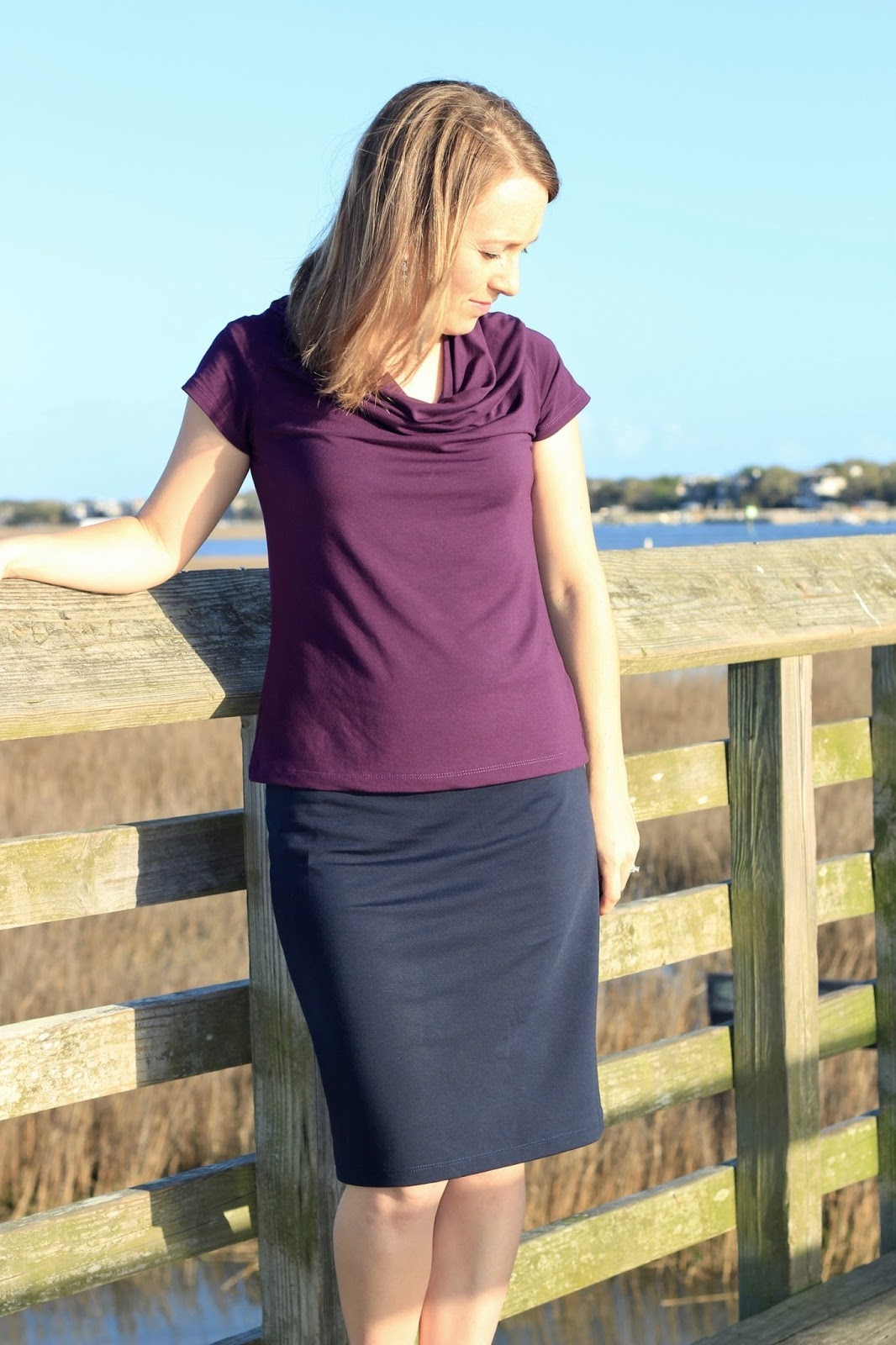 Pirate Pencil Skirt ~ Patterns for Pirates - The Petite Sewist