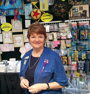 Judy at Show Stand July 2012