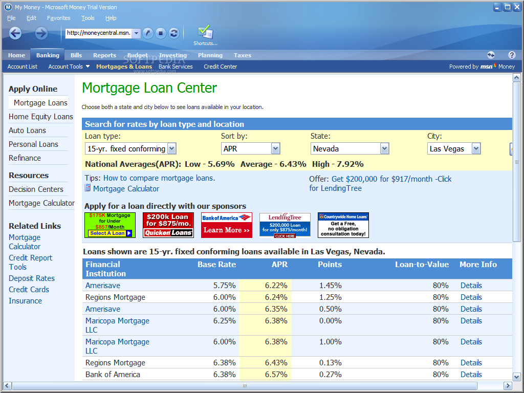 Alternatives to Microsoft Money for Personal Finances