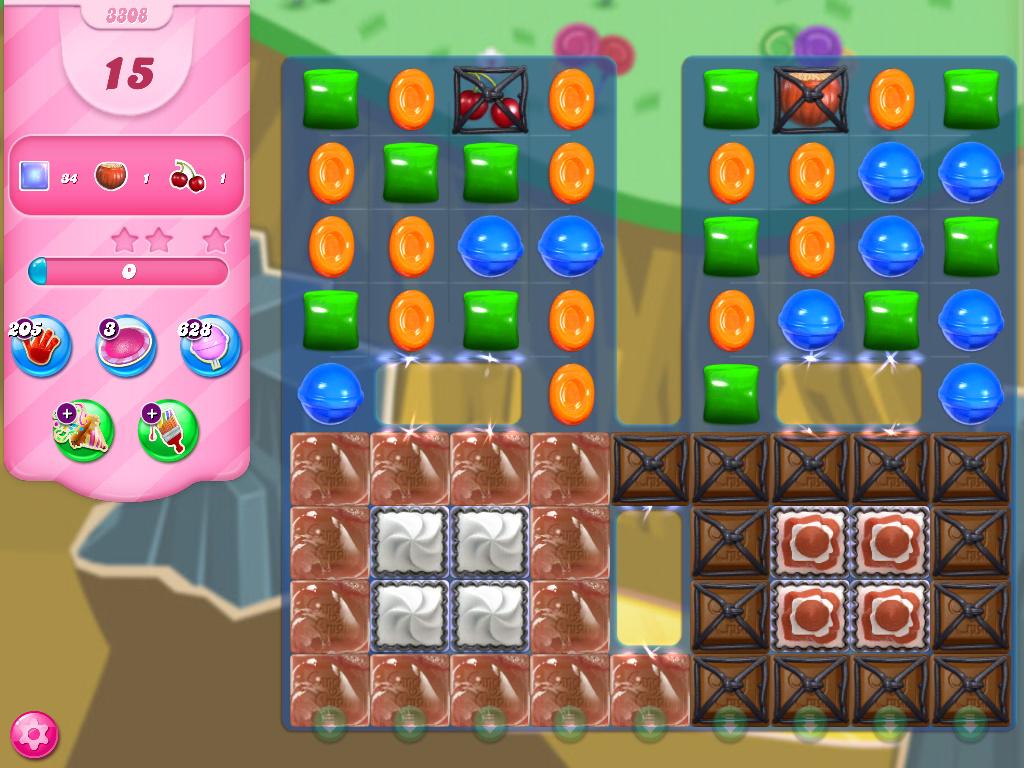 Candy Crush Saga level 3308