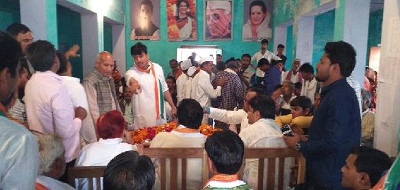Dal-badlu-pratyashi-ko-laaye-jane-se-naaraj-hai-congressi-kaarykartta