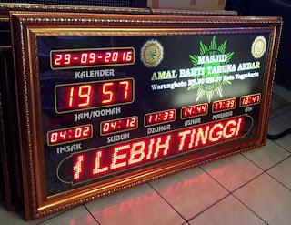 Jadwal Sholat Digital Bantul