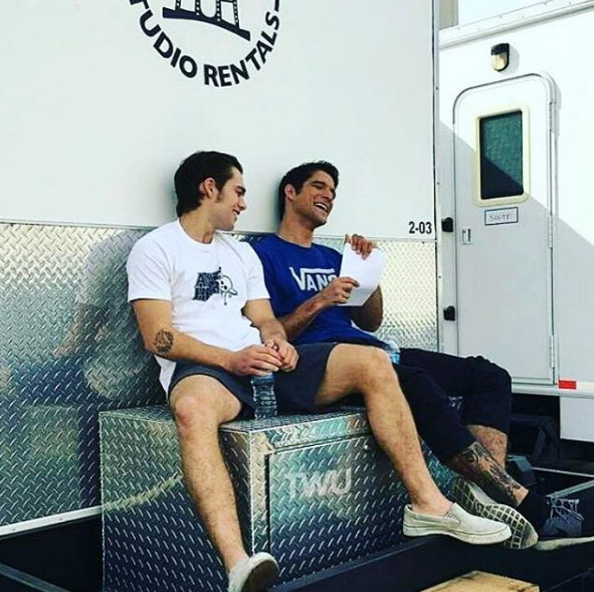 Dylan Muse Sprayberry - Galeria de Fotos do Instagram - Teen Wolf