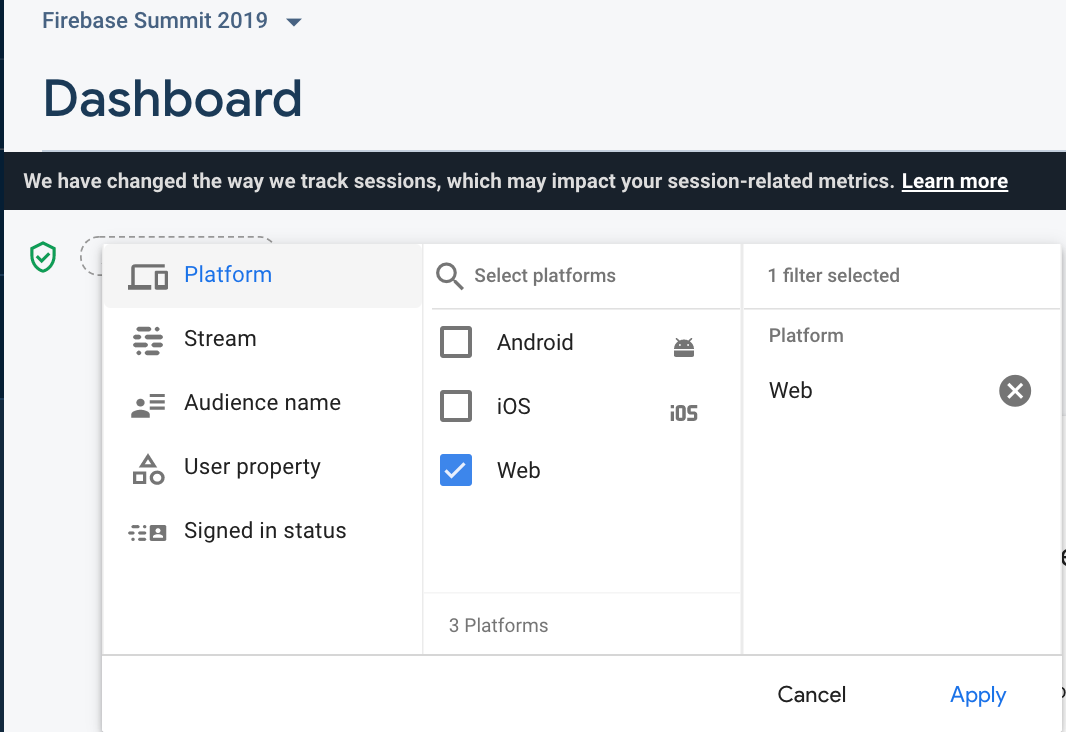 Google Analytics now supports web apps
