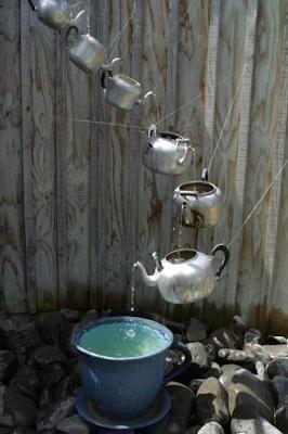 Jolies id es r cup pour le jardin for Fontaine de jardin nature et decouverte