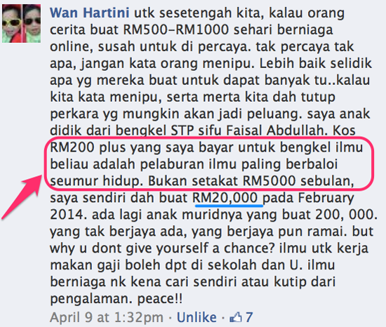 Cara jual produk menerusi Facebook dan dapat jualan RM7K sehari