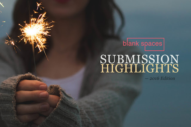 submission examples for blank spaces magazine