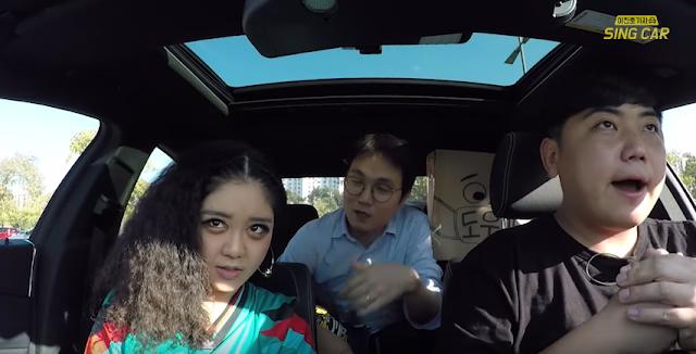 TRUEDY ON SING CAR #TRUEDY #UNPRETTYRAPSTAR2 #KHH #KHIPHOP