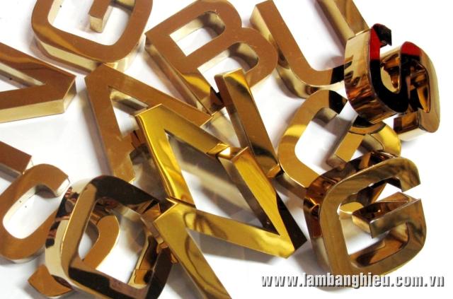 chữ inox vàng đẹp như vàng