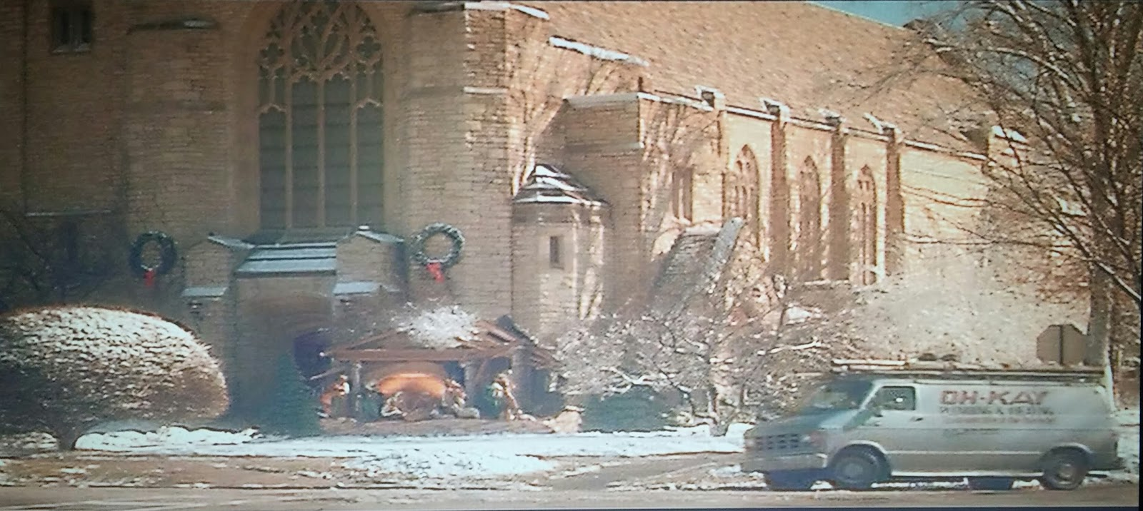 The Adventures Of Blogger Mike Trinity United Methodist Church Home Alone Filming Location Wilmette Il