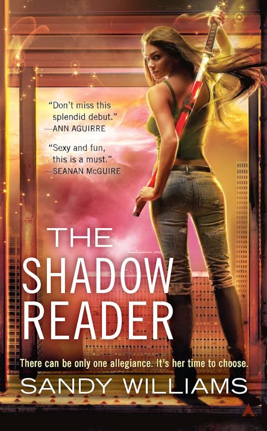 Interview with Sandy Williams, author of the Shadow Reader series - January 7, 2014