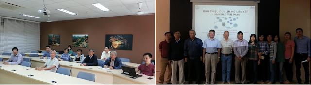 Hội thảo lần đầu tiên 'Giới thiệu Dữ liệu Mở Liên kết - Linked Open Data' tại Đại học Thăng Long, Hà Nội