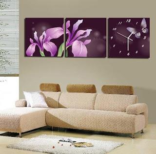 modern wall clocks for living room