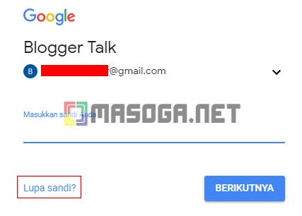 Cara Mengembalikan Password Gmail Tanpa Nomor Handpone Masoga Net