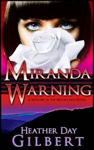 Miranda Warning - woman with short hair shown on front