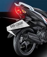 Ukuran ban Yamaha Mio Z Terbaru 2016