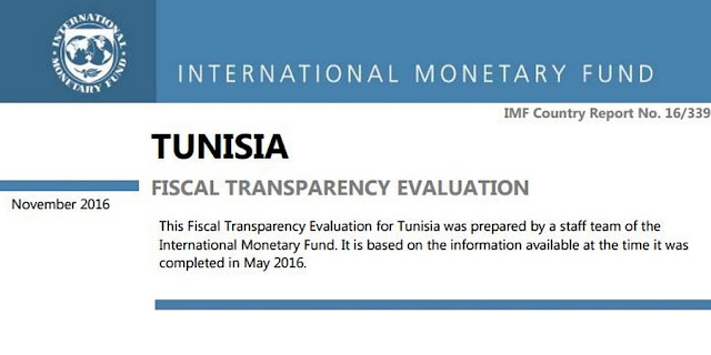 PR | IMF Publishes Fiscal Transparency Evaluation for Tunisia
