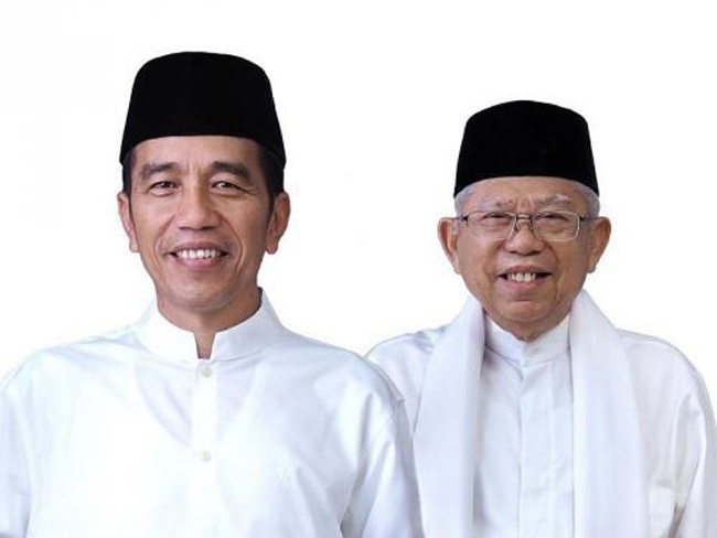 Rekapitulasi KPU Rampung, Jokowi-Ma'aruf Unggul di 21 Provinsi
