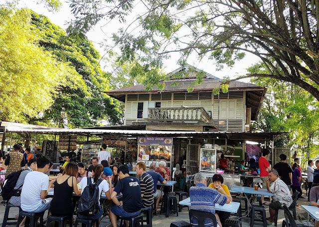 【实兆远美食】霹雳实兆远南华咖啡店 Nan Wah Kopitiam 大树下吃早餐