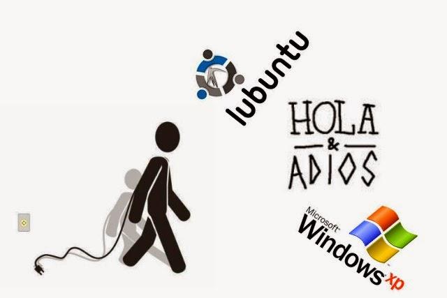 Instalar Lubuntu gratis solucion retirada de Windows XP