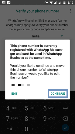 Move to WhatsApp Business