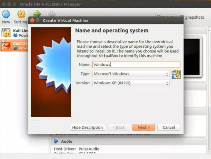 How to install Windows XP in Ubuntu Virtualbox (step by step