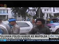 Tak Sopan, Polisi Salip Iring-iringan Mobil Jenazah, Akhirnya Diamuk Massa